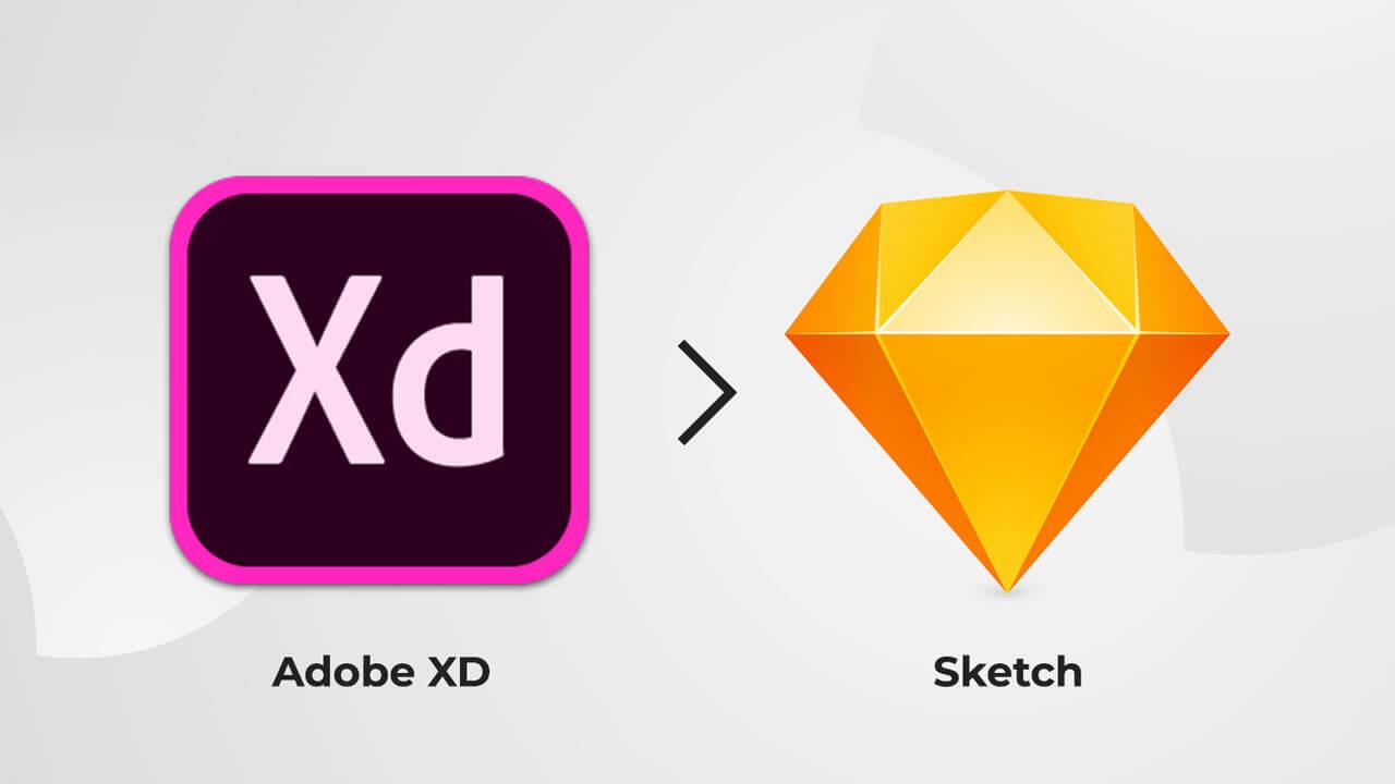 Adobe XD в Sketch